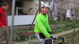 Олег после финиша